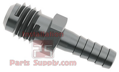 "3/8"" x 5/16"" Barb x Flare Male 304SS"