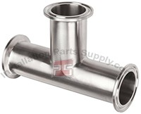 "1.5"" Clamp Tee 304SS Sanitary Fittings"