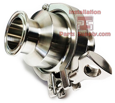 "2.0"" Check Valve Clamp 304SS Sanitary Fittings"
