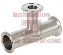 "2.0""-1.5"" Clamp Reducing Tee 304SS Sanitary Fittings"