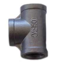 1/2 x 1/2 x 1/2 FPT Tee 304 Stainless Steel 150psi