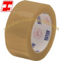 "2"" x 110' x 1.8 mil Tan Acrylic Package Sealing Tape"
