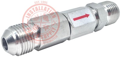 "3/8""x1/4"" Flare x Flare Double Check Valve Stainless Steel S470D-64"